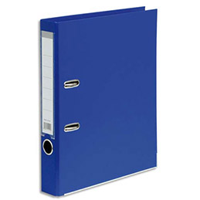 Classeur à levier 1er prix - polypropylène - dos 5 cm - A4 - bleu