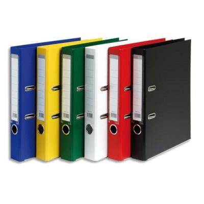 Classeurs à levier 1er prix - dos 5 cm - polypropylène - A4 - coloris assortis standard