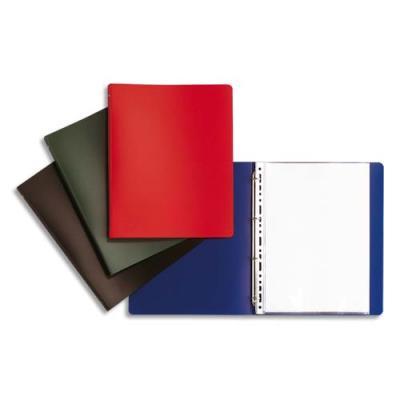 Classeurs 4 anneaux - dos 2 cm - A4 - couverture souple en polypropylène - coloris assortis