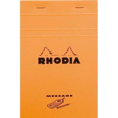Bloc Rhodia message n°140 - format 11x17 cm - 80 g