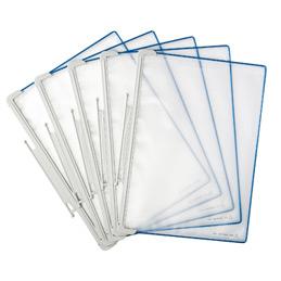 Poches pour kit Tarifold T-Office - A4 - bleu- boîte de 5 (photo)