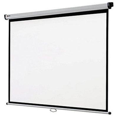 Ecran de projection mural Nobo - 200 x 151 cm - surface blanc mat (photo)