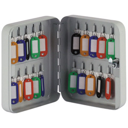 Armoire à clés équipée de 20 porte-clés Pavo (photo)