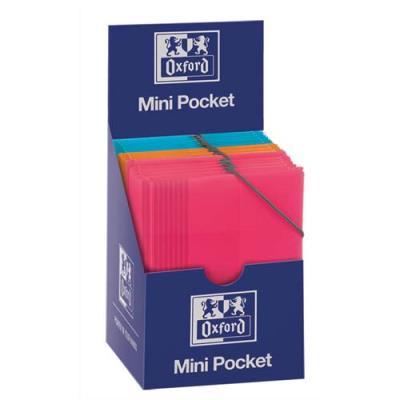 Chemise 3 rabats et élastique Elba School Life - polypropylène - A6 - coloris assortis (photo)