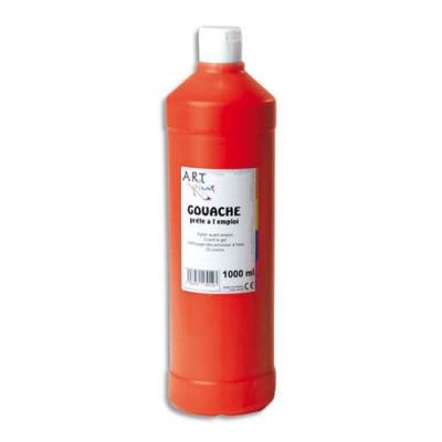 Artplus gouache liquide 1 litre rouge carmin prete a lemploi (photo)