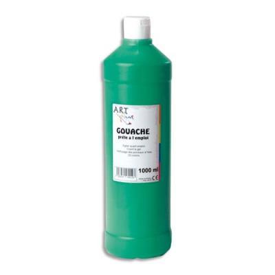 Artplus gouache liquide 1 litre vert moyen prete a lemploi (photo)