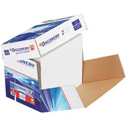 Papier blanc Discovery - 75g - A4 - box de 2500 feuilles (photo)