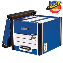 Grand conteneur Bankers Box® Premium - Format A4 (photo)