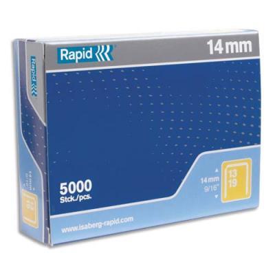 Agrafes Rapid Nº13/10 - boîte de 5000