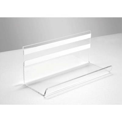 Porte-marqueurs transparent - fixation avec bande adhésive acrylique 3 mm - 17 x 7,5 x 7 cm (photo)