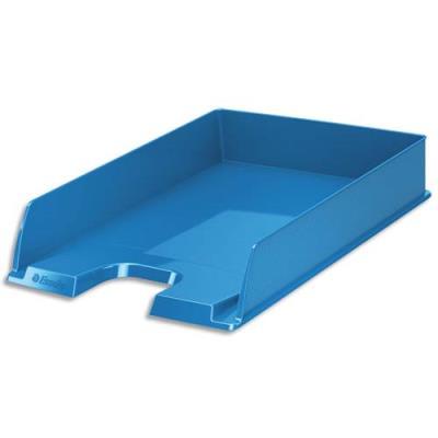 Corbeille à courrier Esselte Vivida - superposable - 25,4 x 6,1 x 35 cm - bleu