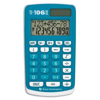 Calculatrice scolaire Texas instrument TI 106 (photo)