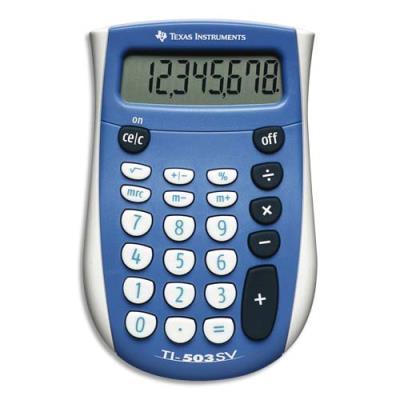 Calculatrice de poche TI 503SV - 8 chiffres (photo)
