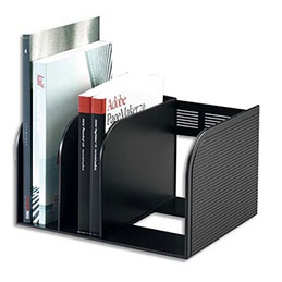 Porte-revues Durable Optimo - 3 compartiments - module central coulissant