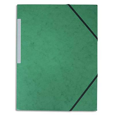 Chemise 3 rabats élastiques 5 Etoiles - carte 5/10 - vert (photo)