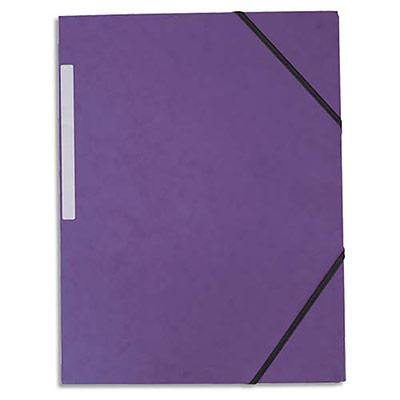 Chemise 3 rabats élastiques 5 Etoiles - carte 5/10 - violet (photo)
