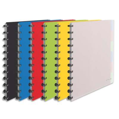 Protège documents Vivada - 25 pochettes amovibles - 50 vues - coloris assortis