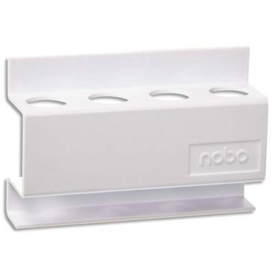 Porte-marqueurs magnétique rectangulaire - L12 x H8 x P3,2 cm