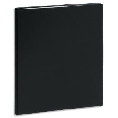 Agenda 2020 de bureau journalier Exacompta Journée Planifiée 22 - 18 x 22,5 cm - noir (photo)