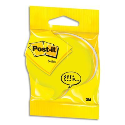 Cube Post'it forme bulle - bloc de 225 feuilles - 3 couleurs (photo)