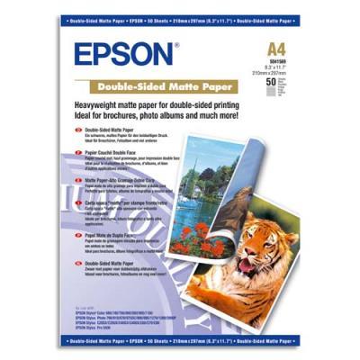 Epson - mat - A4 (210 x 297 mm) - 167 g/m² - 50 feuille(s) papier - pour EcoTank ET-2650, 2751, 2756, M3170; Expression Photo XP-970; SureColor SC-P7500, T3100 (photo)