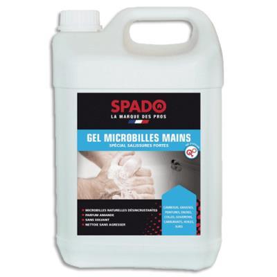 Savon gel industriel - gamme végétale biodégradable - bidon de 5L (photo)