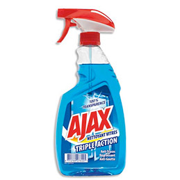 Nettoyant vitres Ajax Triple Action - spray 750 ml (photo)