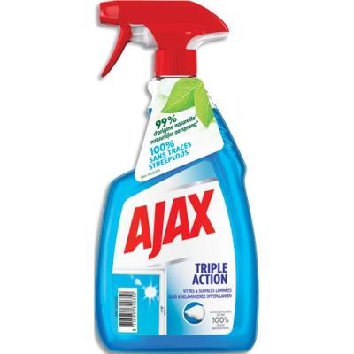 Nettoyant vitres Ajax Triple Action - spray 750 ml (photo)