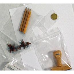 Sachets translucides avec fermeture quasi étanche par simple pression - 120 x 170mm - carton de 1000 - (photo)