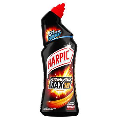 Gel WC Harpic Power Plus - 2 flacons de 750 ml + 1 OFFERT (photo)