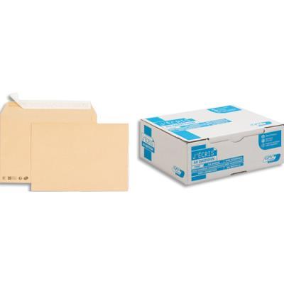 Enveloppe en kraft brun GPV - format 229 x 324 mm - auto-adhésive - 90 g - boite de 250 (photo)