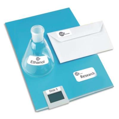 Mini étiquettes Avery L7652  - impression laser - format 45,7 x 16,9 mm - 100 feuilles - boîte de 6400