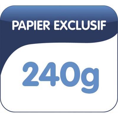 Dossiers suspendus AZV en carte Canson orange - pour armoire - fond 50 mm - paquet de 25 (photo)