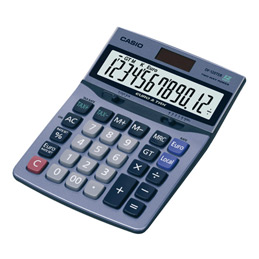 Calculatrice de bureau Casio DF-120TERII (photo)