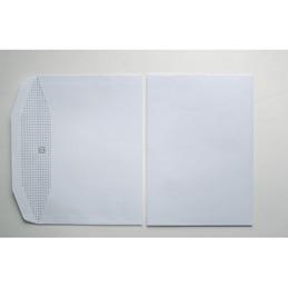 Enveloppes 162x229 - blanches - pour mise sous pli automatique - gommées - 80 g - boîte de 1000 (photo)