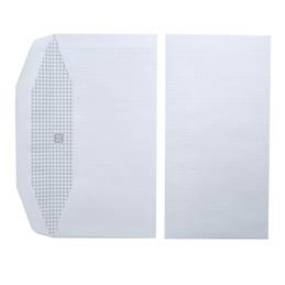Enveloppes 114x229 - blanches - pour mise sous pli automatique - gommées - 80 g - boîte de 1000 (photo)