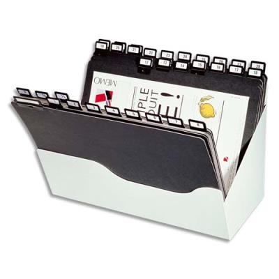 Trieur de bureau Val-Rex Valbox - pour classement vertical - format A4 - 31 intercalaires