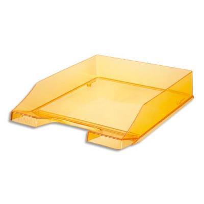 Corbeille à courrier Han - pour format A4 - orange translucide