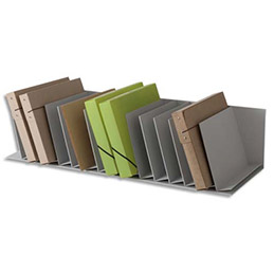 Trieurs 16 cases incline Fastpaperflow - gris
