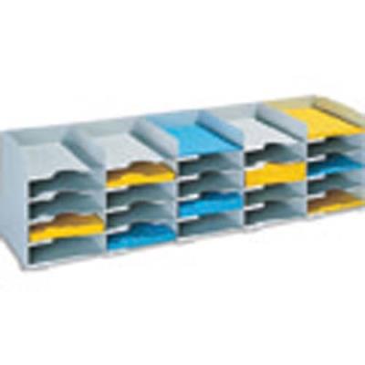 Bloc classeur 20 cases Fastpaperflow - gris (photo)