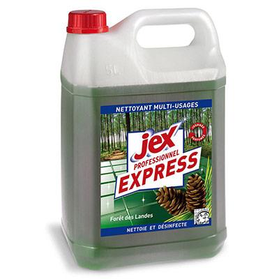 Nettoyant multi-usages désinfectant Express Forêt des landes - bidon 5 L - pack promo : 2 bidons de 5L + 1 OFFERT (photo)