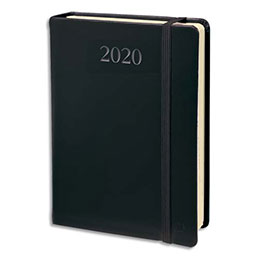 Agenda 2020 journalier Daily Pocket de Quo Vadis - format poche 8 x 13 cm - Décembre à décembre - noir (photo)