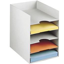 Classeur armoire Paperflow -  5 cases - 24x32cm - gris (photo)