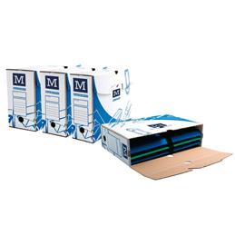 Boîtes à archives - 34x25cm - dos 10cm - paquet de 1000