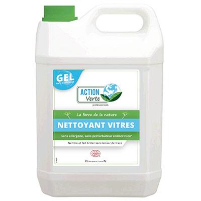 Nettoyant écologique vitres et surfaces en gel - bidon de 5L - bouteille 5 litres (photo)