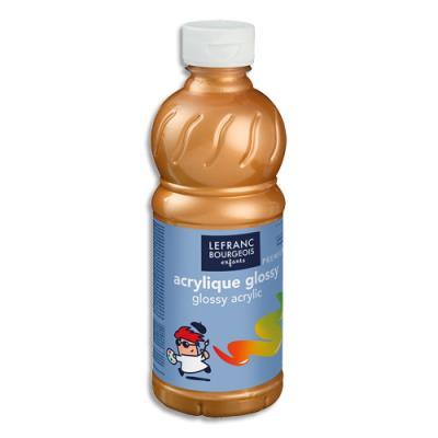Acrylique  brillante - 500ml - Glossy Color& Co - Or (photo)