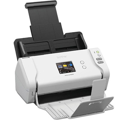 Brother ADS-2700W - Scanner de documents - Recto-verso - A4 - 600 dpi x 600 dpi - jusqu'à 35 ppm (mono) / jusqu'à 35 ppm (couleur) - Chargeur automatique de documents (50 feuilles) - USB 2.0, LAN, Wi-Fi(n), USB 2.0 (Host) (photo)