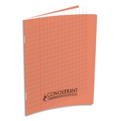Cahier maternelle piqûre - 17 x 22 cm - 32 pages Seyès - couverture polypro rouge