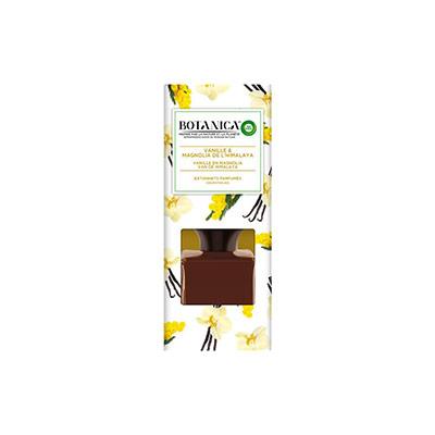 Bâtonnets Botanica diffuseurs de parfum Vanille et Magnolia - flacon 80ml (photo)