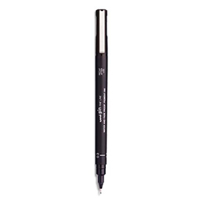 Feutre Uniball - pointe 0,3 mm - noir